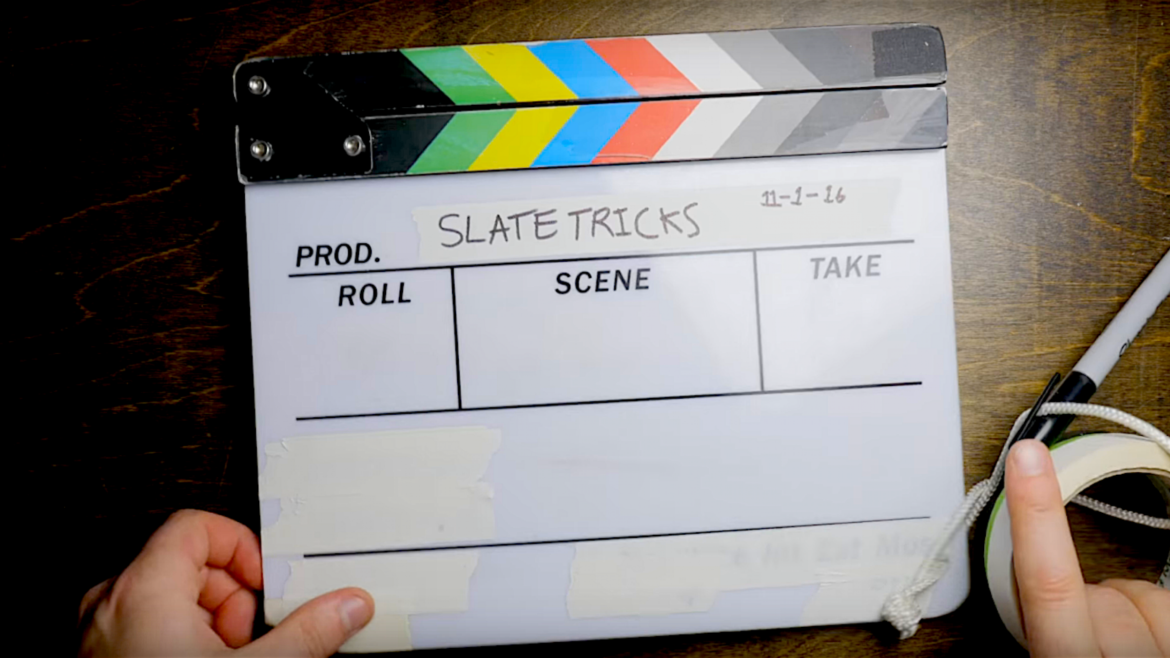 8 Tricks That'll Make Using a Film Slate a Whole Lot Easier