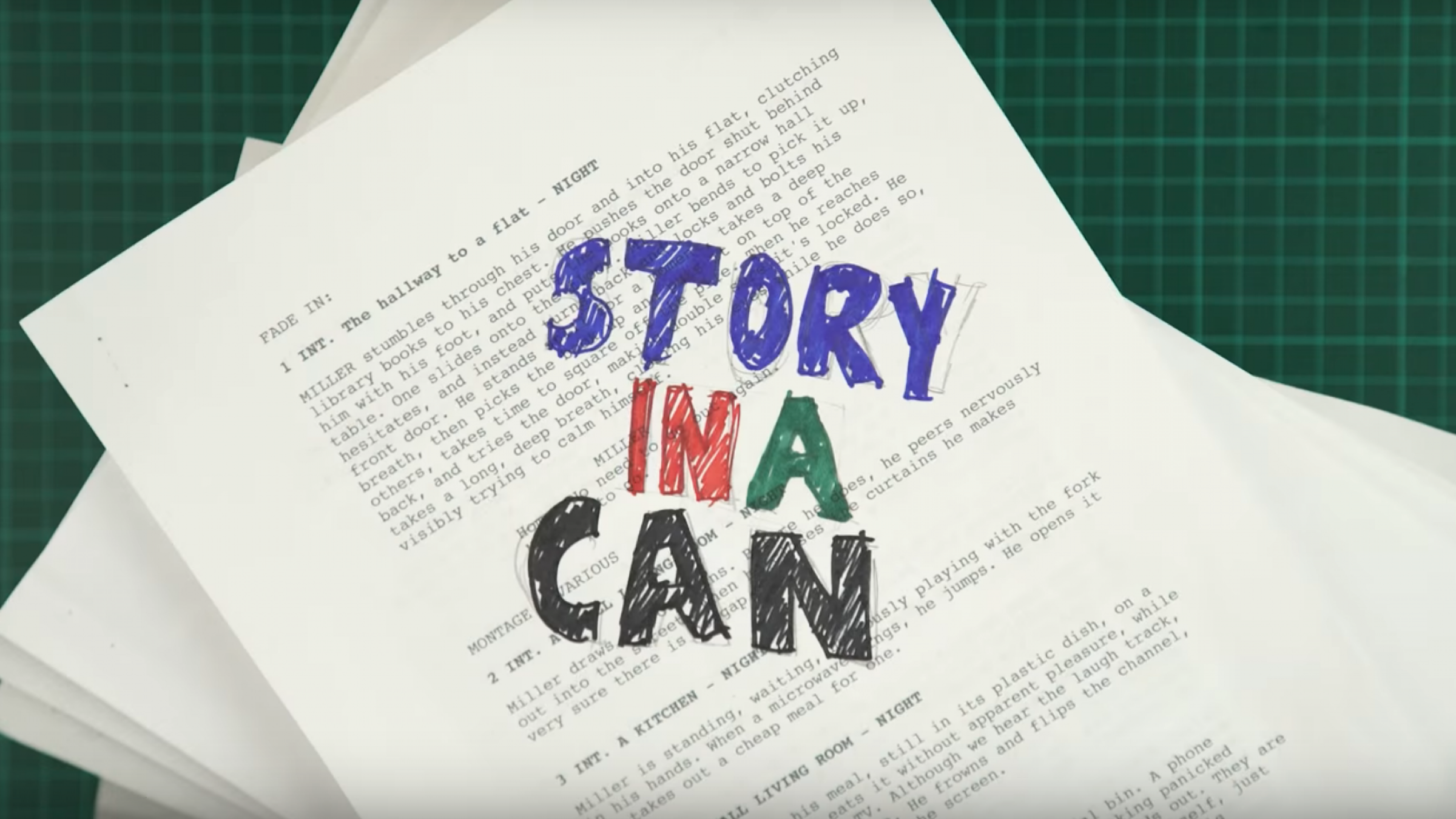Can't Think Up a Good Screenplay Idea? Try Story-in-a-Can