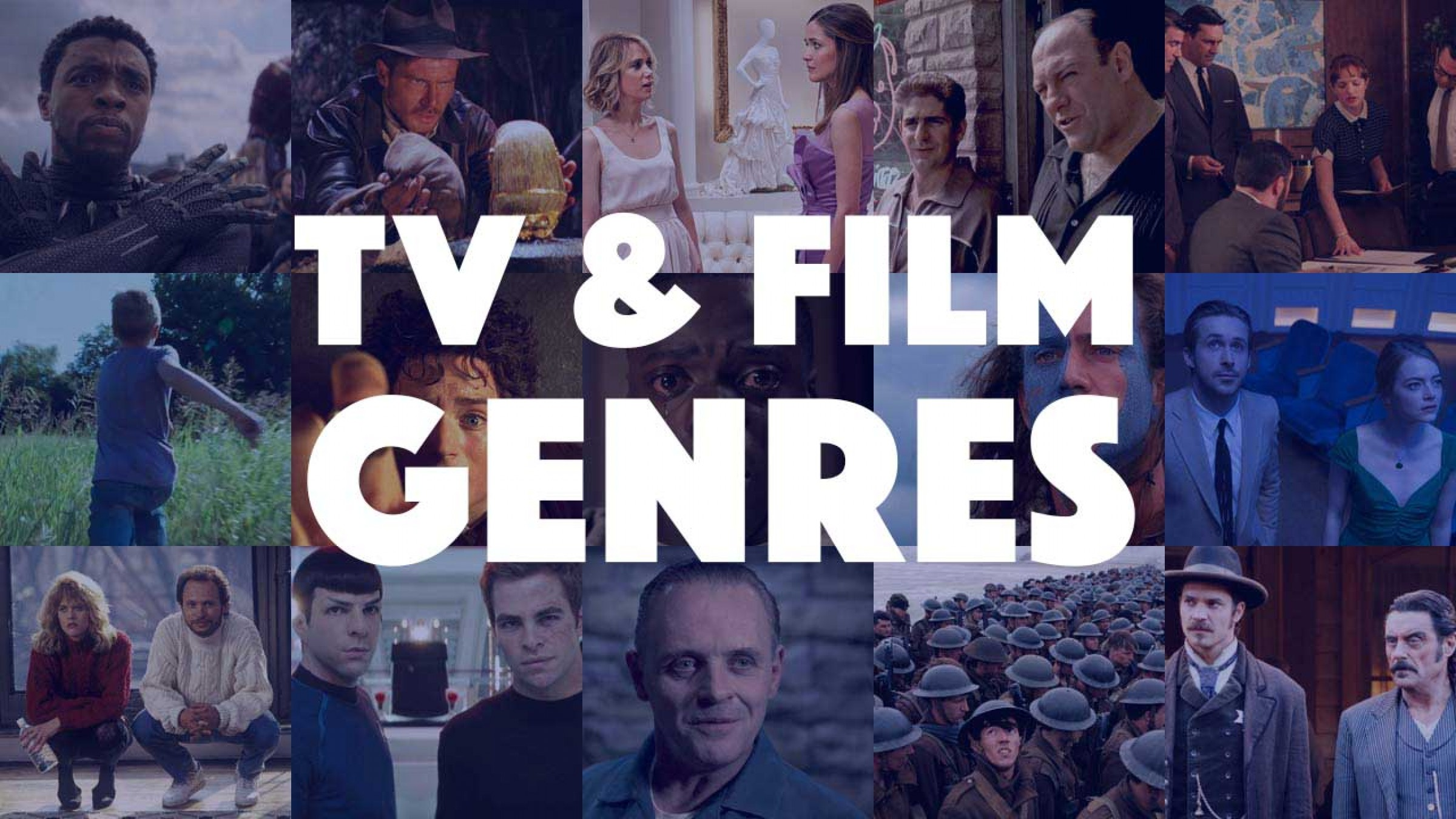TV & Film Genres List: A Comprehensive Study and Guide