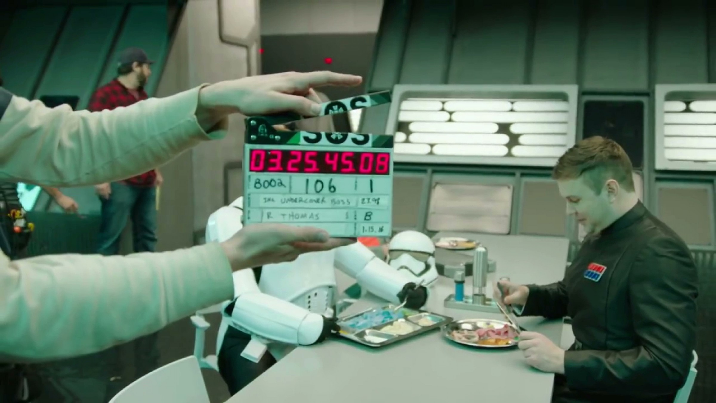 Candid Camera Star Wars : Behind the scenes of snls hilarious star wars undercover boss