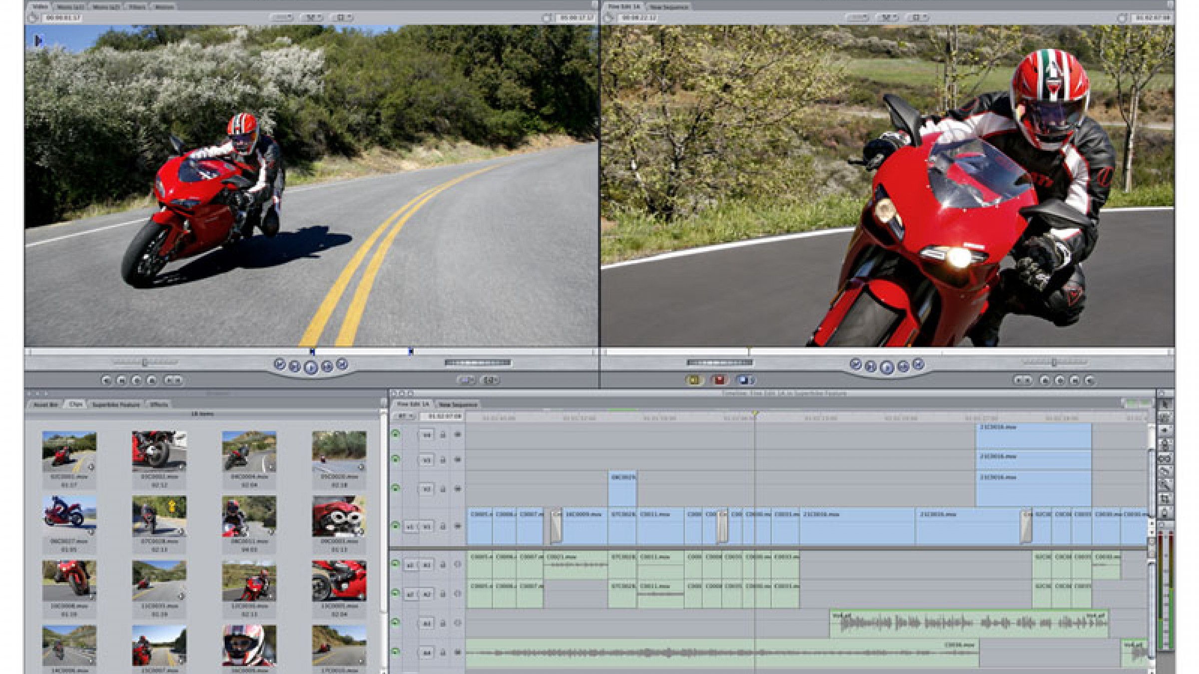 final cut pro how to make voice sound far