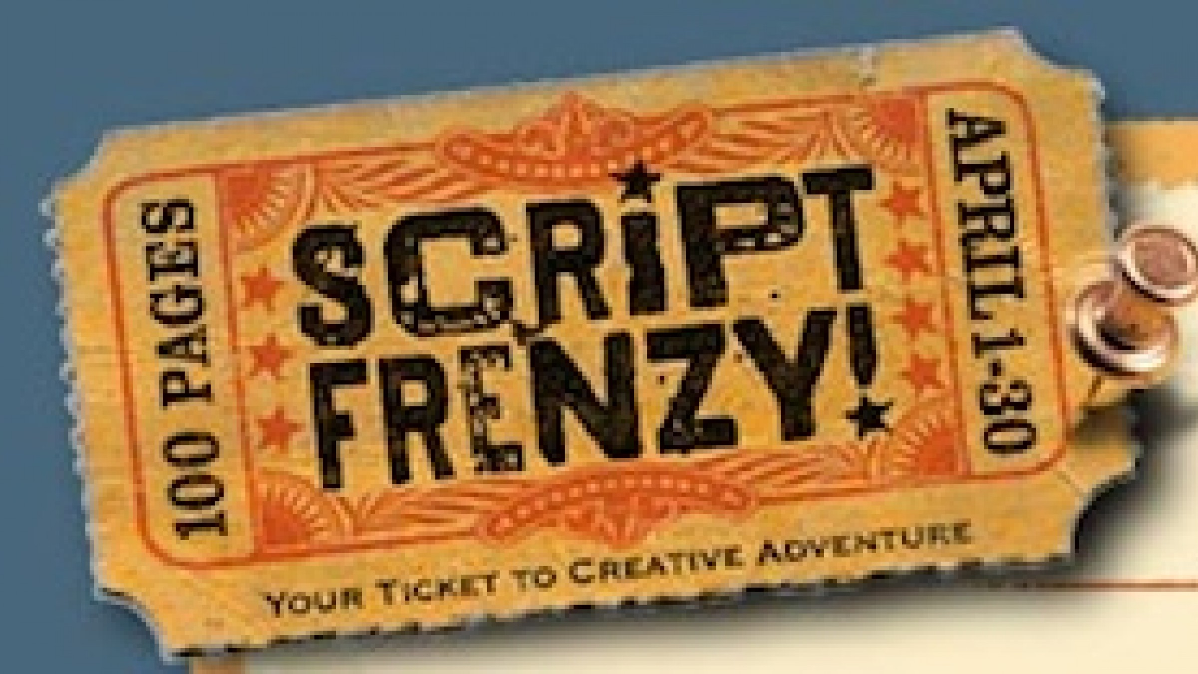 How to Participate in Script Frenzy advise