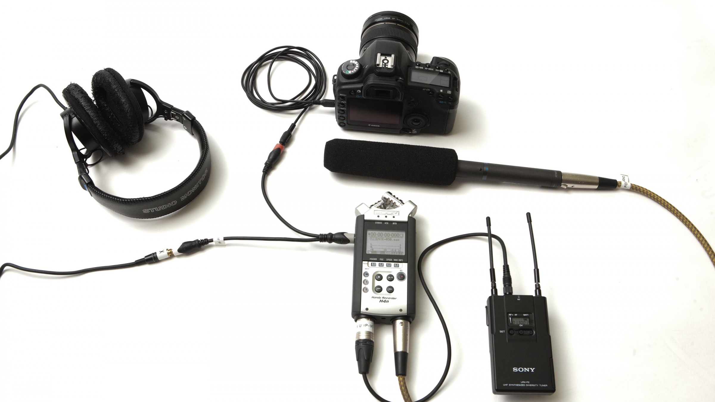 An Easy Dslr Audio Setup For A Crew Of One