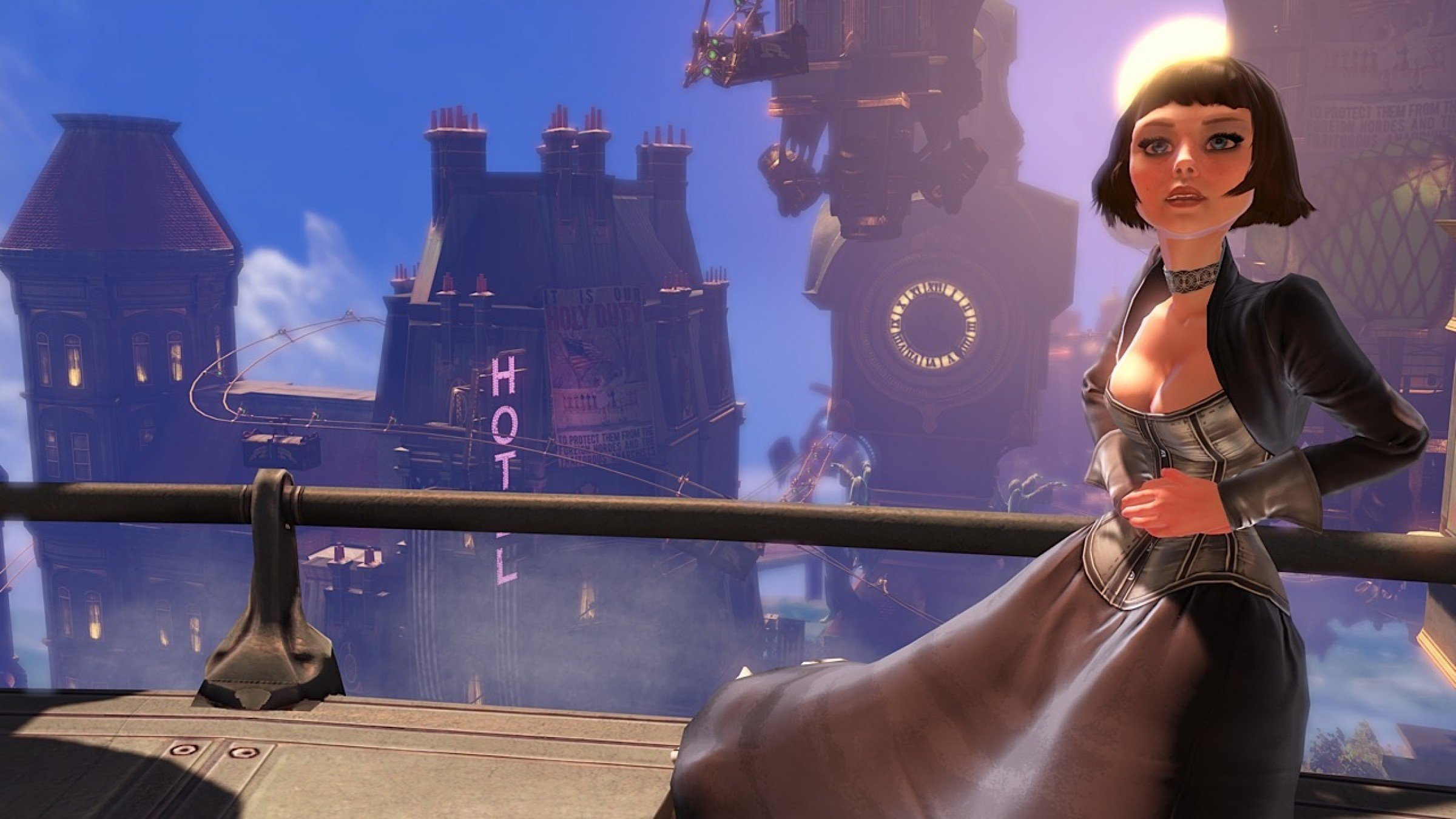 Boy, Games Sure are Getting Close to Movies: The 'Bioshock Infinite' Trailer