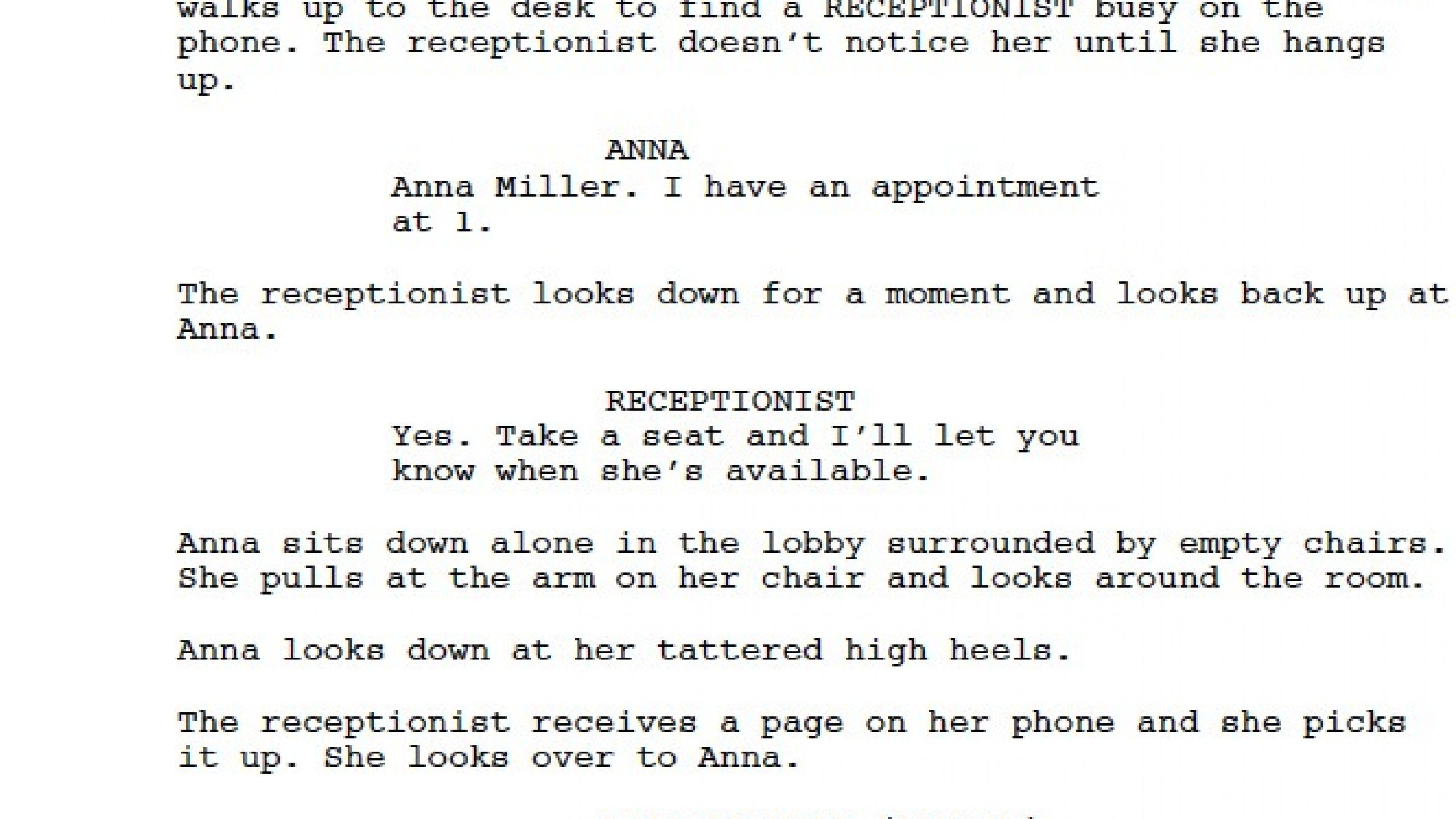 Want to Break into Hollywood? It's All in the Script