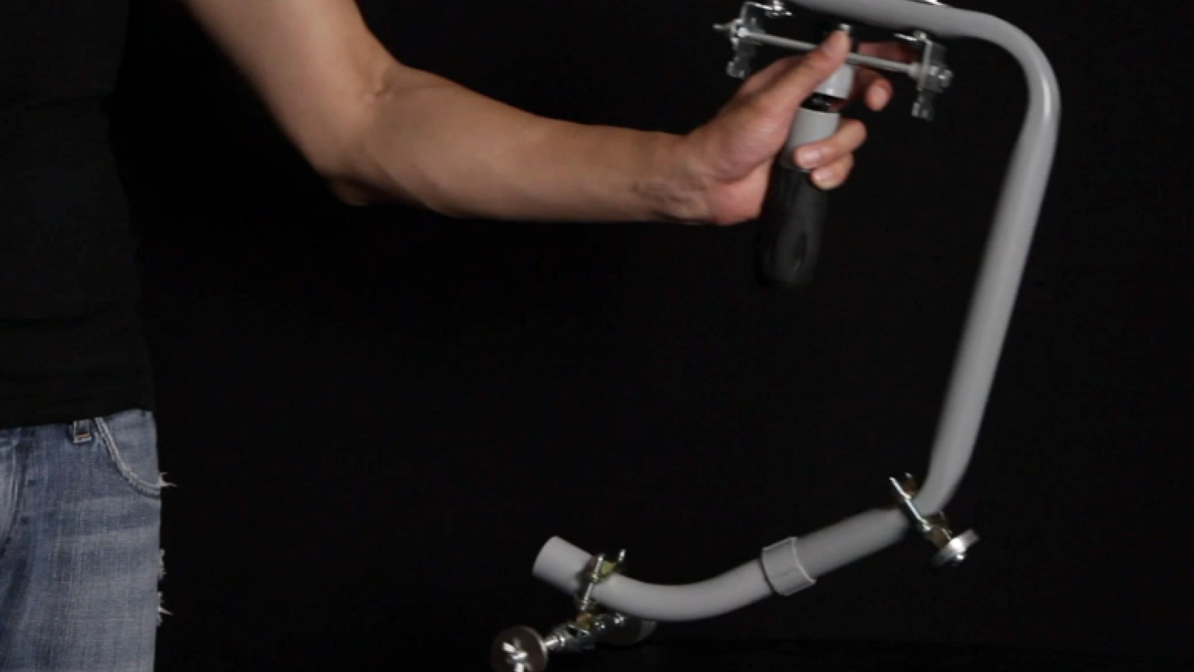 Build this diy dslr flying camera stabilizer with off the shelf parts for about 100