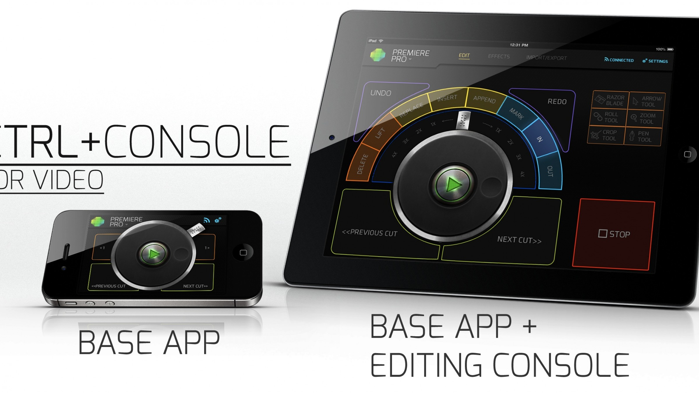 CTRL+Console App: Turn Your iPad into a Premiere Pro or