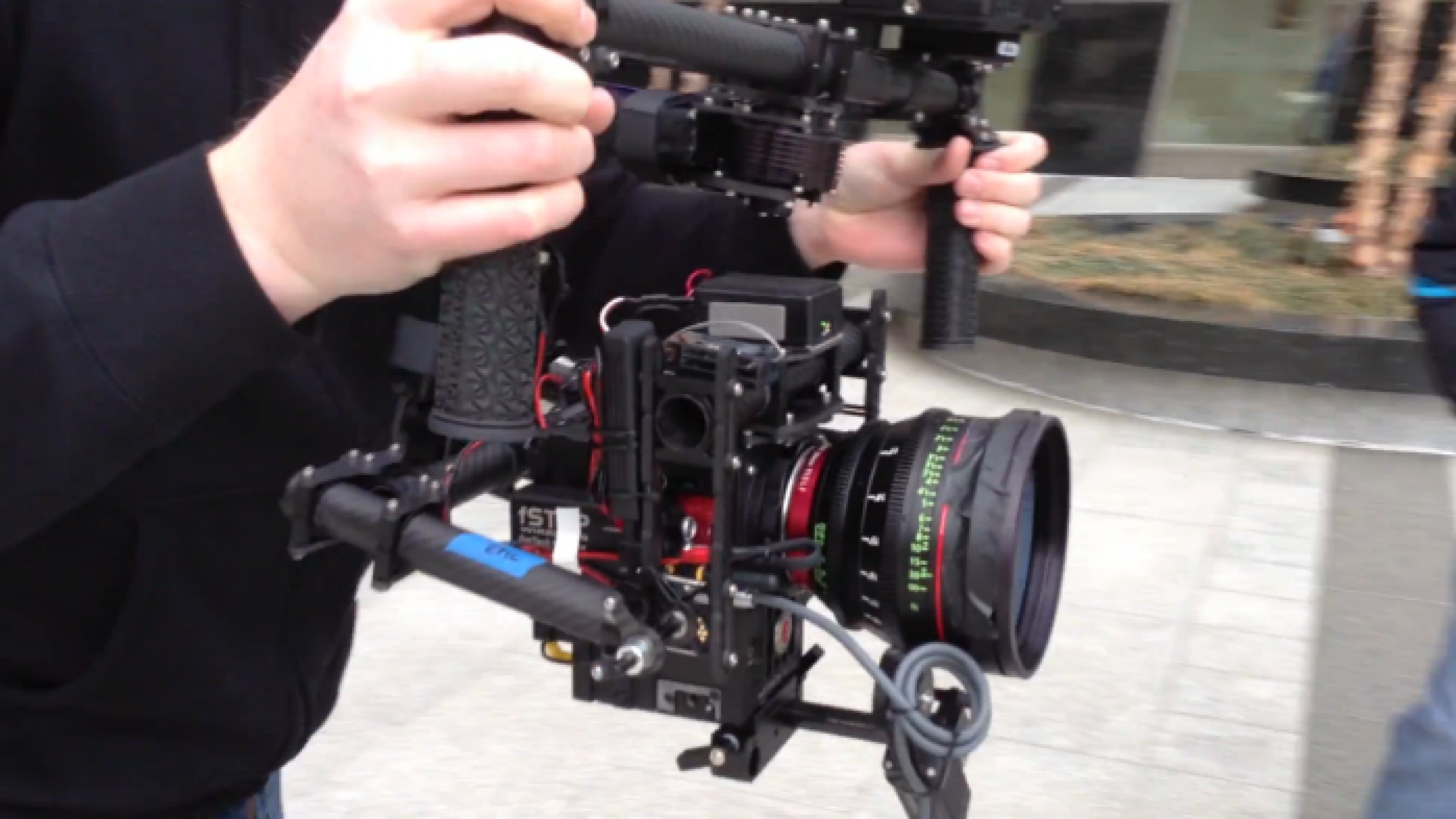 Everyone is Now a Steadicam Operator with MōVi, a Gyro-Stabilized Handheld Camera Gimbal