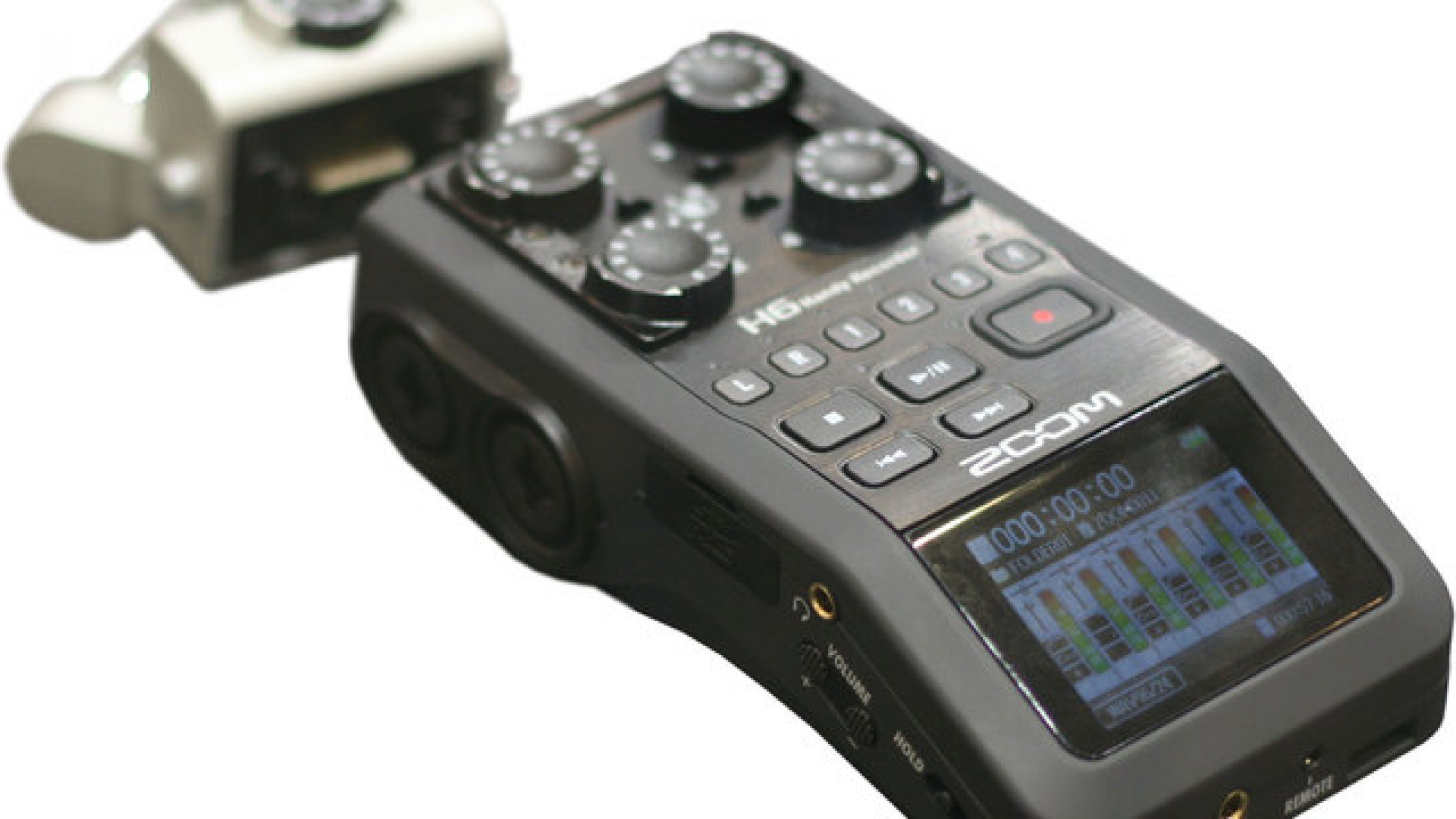 Zoom Announces H6 Audio Recorder, Modular Big Brother to the H4N and Serious Tool for Filmmakers