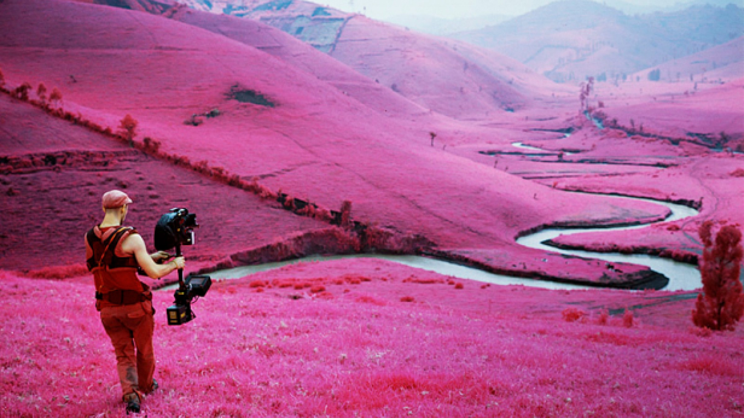 Using Infrared Cinematography to Make the Invisible, Visible in the Documentary 'The Enclave'
