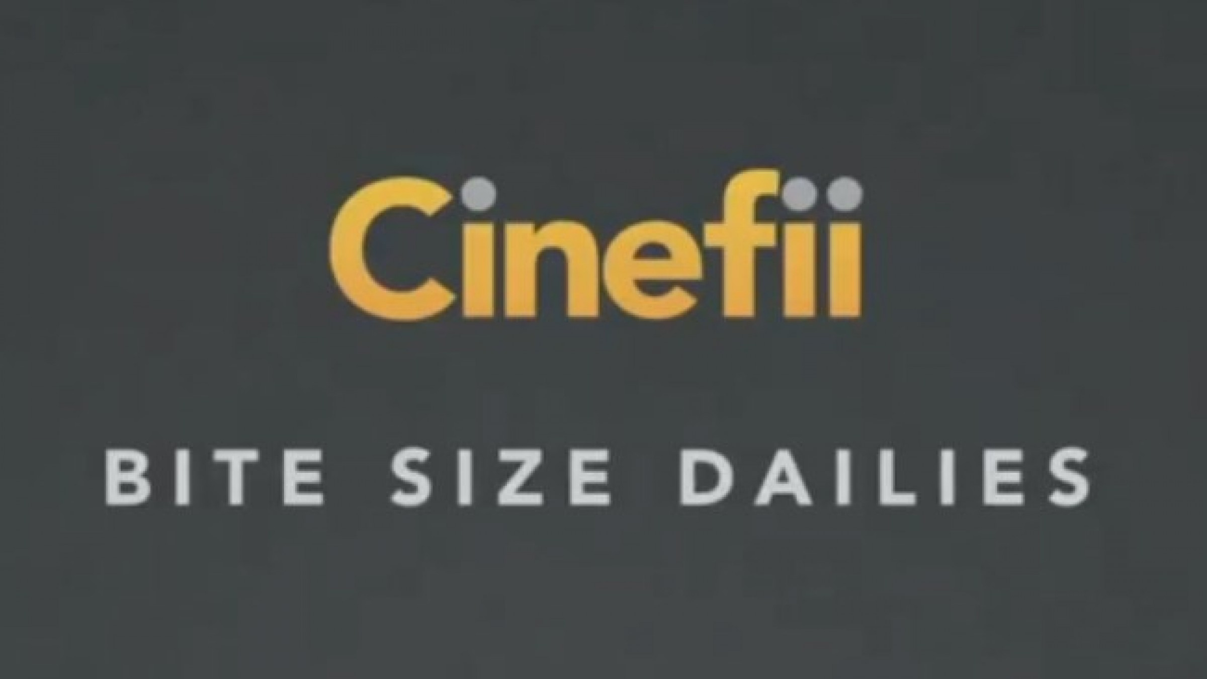 Cinefii's 'Bite Size Dailies' Provide Insightful Cinematography Tips in 3 Minutes or Less