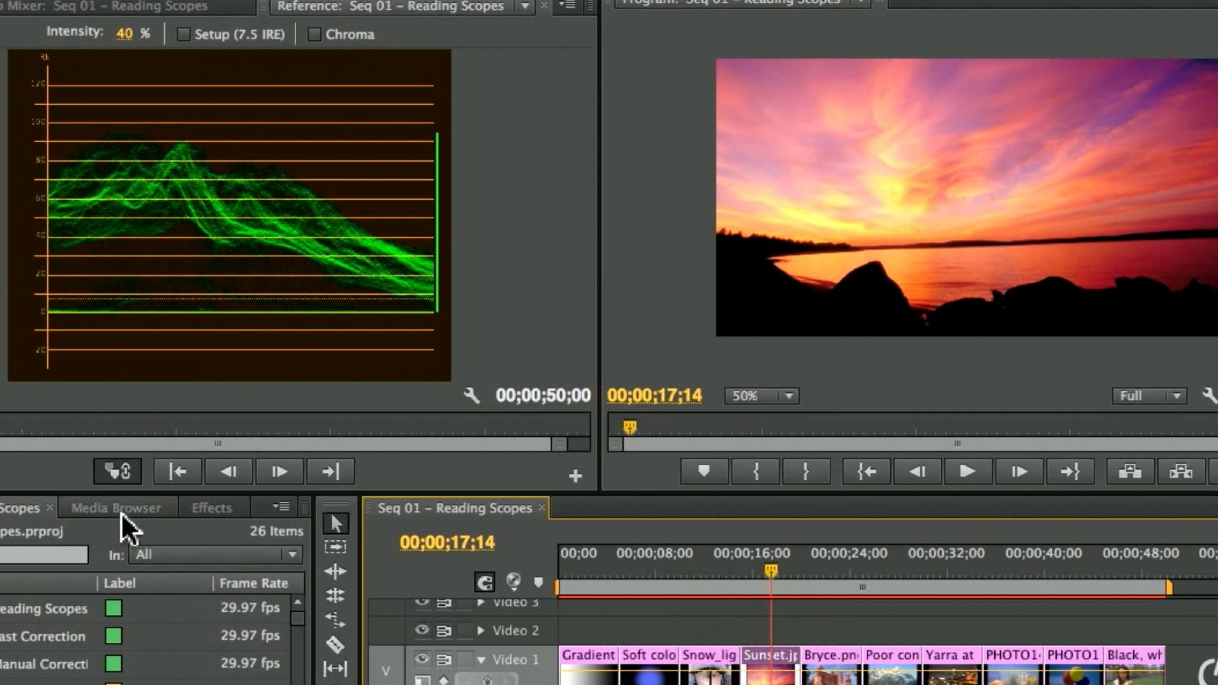 Premiere pro tutorial learn to read scopes with larry jordan baditri Images