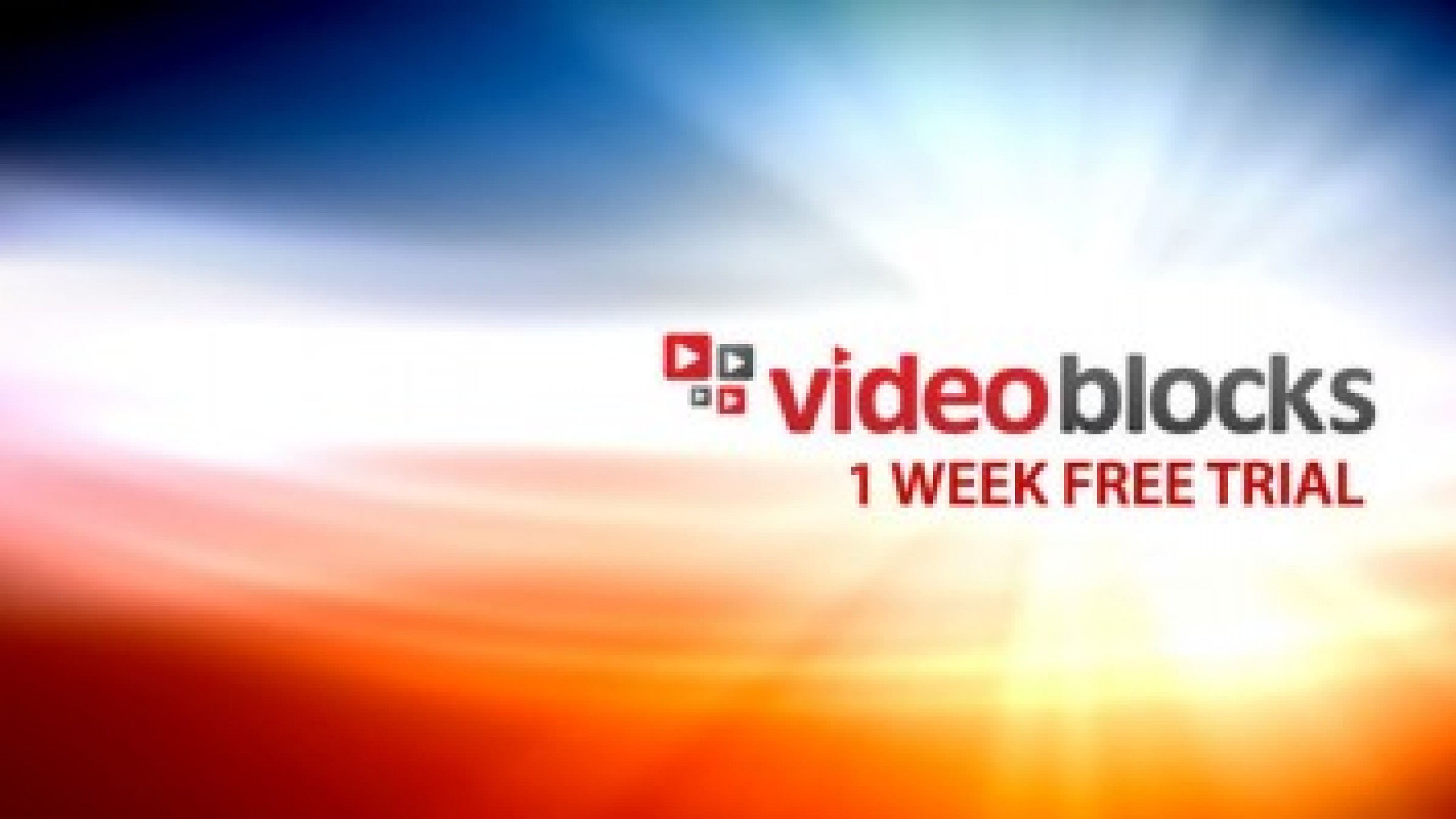 Day trial for video blocks gets you 140 free downloads of stock