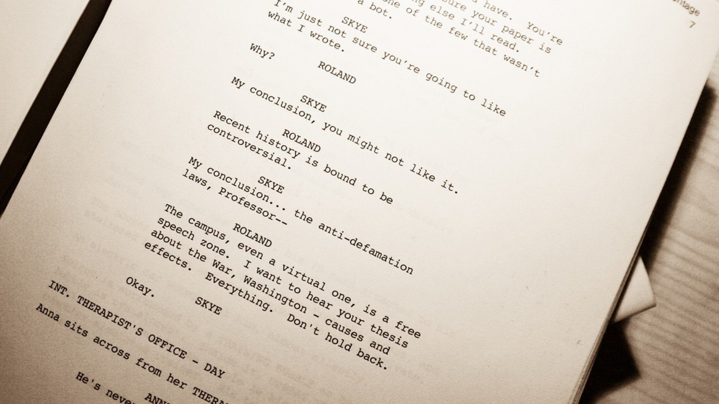writing a script for a movie Are you writing a script or a screenplay is there a difference between the terms script and screenplay screenplay vs script which is it exhibit.
