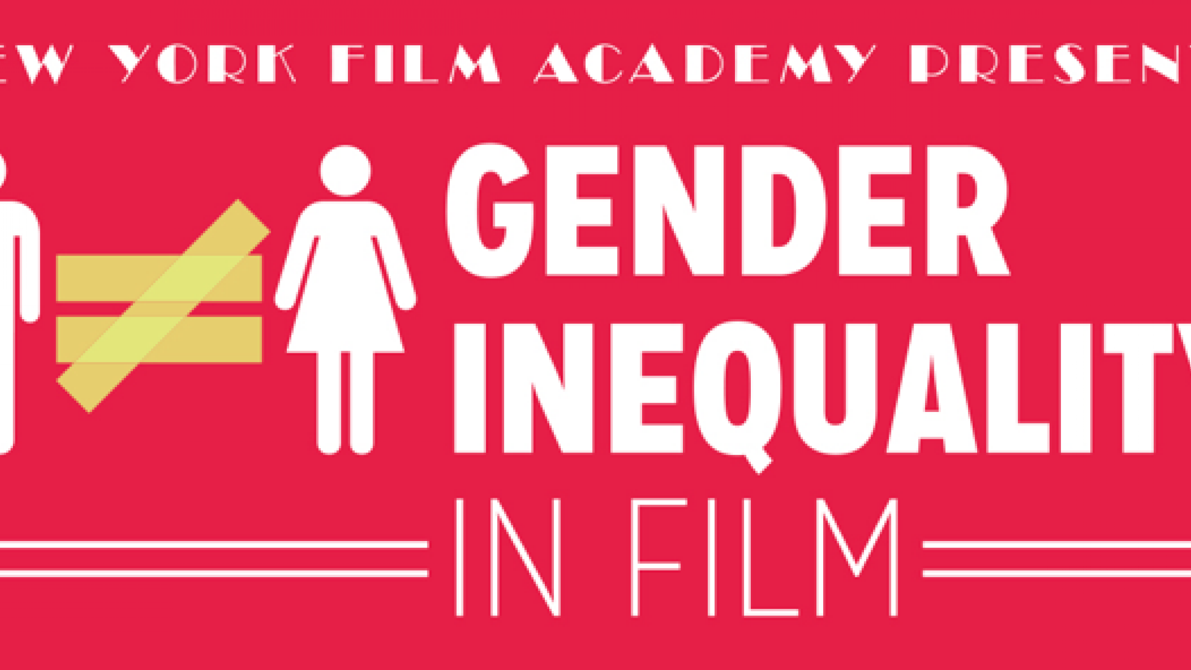 infographic  new york film academy breaks down gender bias