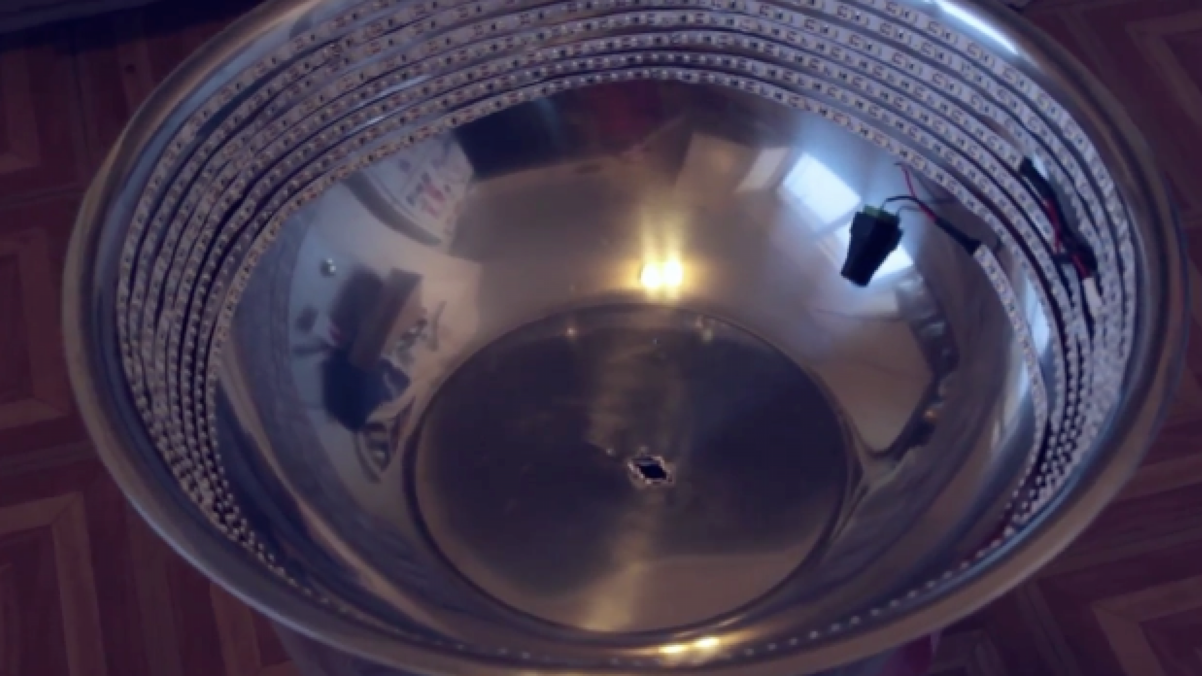 Learn How to Make a DIY $30 LED Ring Light Using Light Strips & a Mixing Bowl