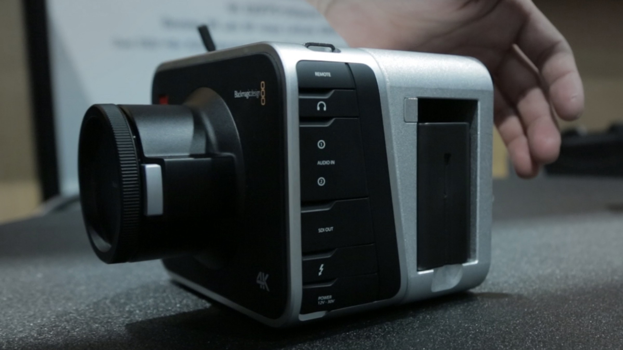 Blackmagic Cinema Cameras Get Removable Batteries Hdmi With New Kinefinity Mod