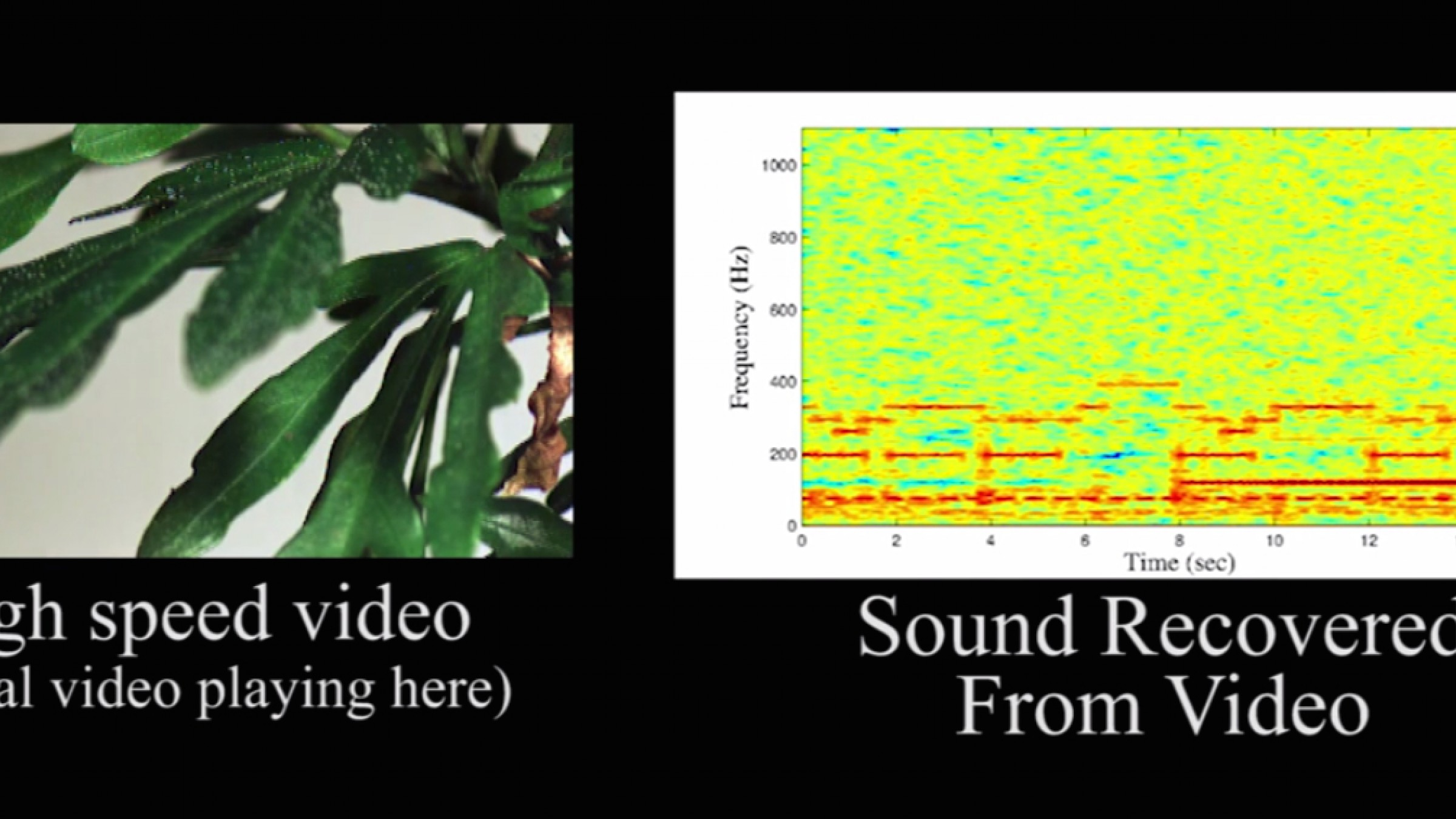 Researchers Have Developed a Way to Extract Audio From Silent Videos