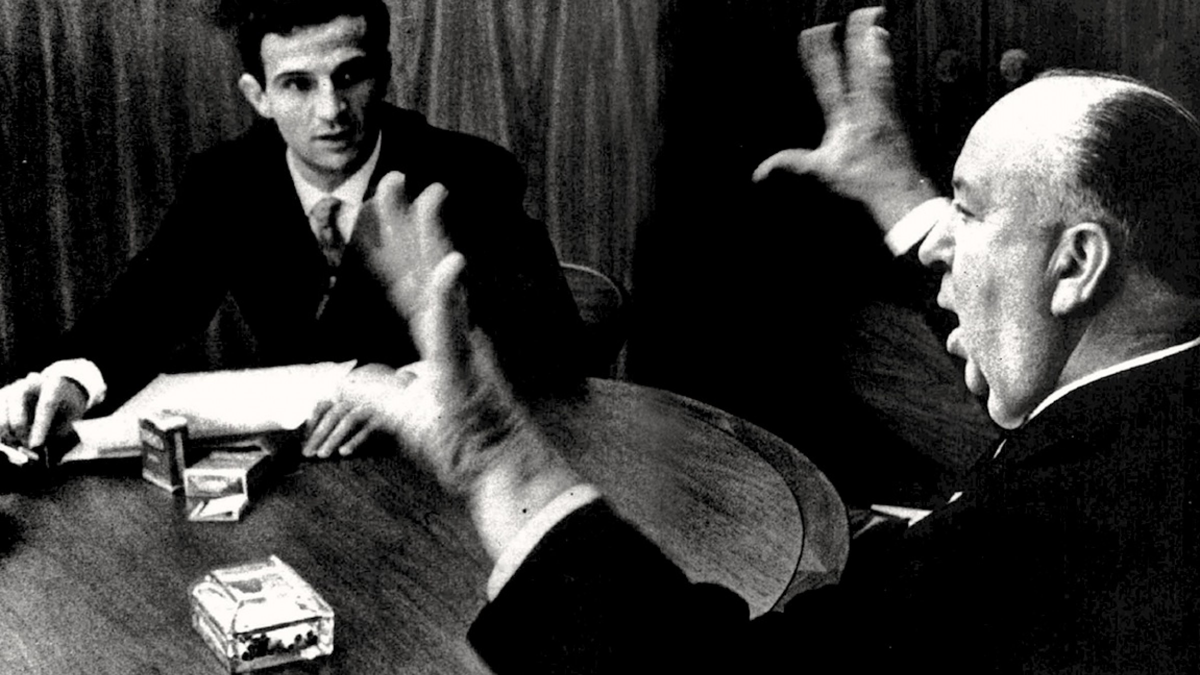 Listen to 12 Hours of François Truffaut Interviewing Alfred Hitchcock for Free