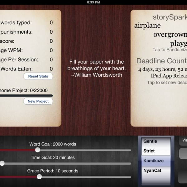 Need To Write Or Else Write Or Die App Will Force Your Hand