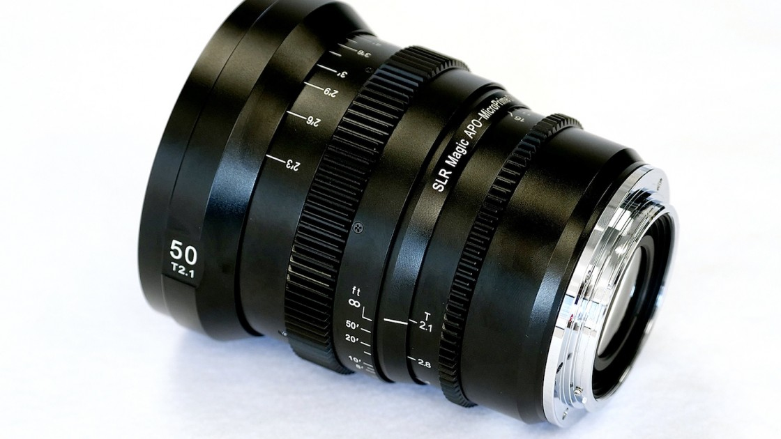 SLR Magic Announces New MicroPrime Lenses With EF Mount