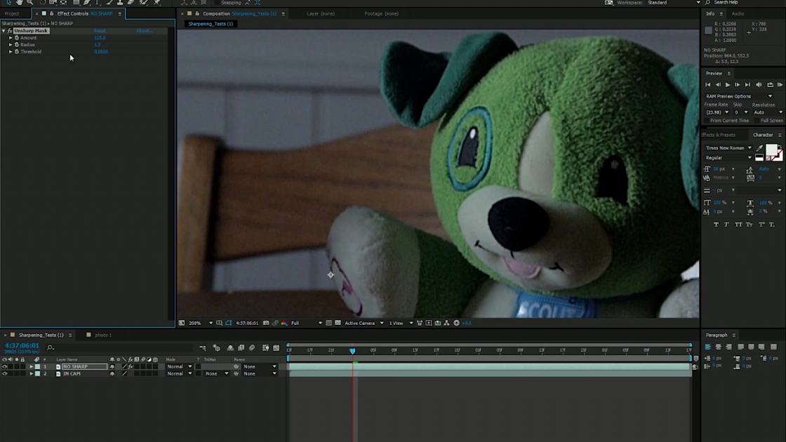 A Simple Trick For Sharpening Your Footage In Post (& Having