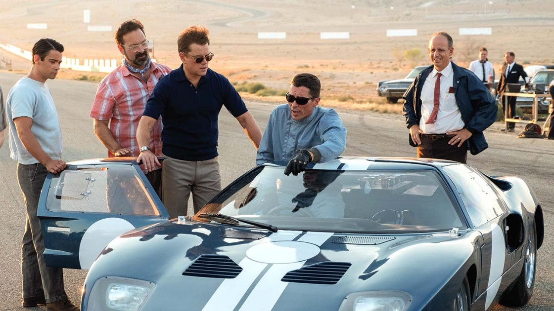 'Ford v Ferrari' DP Reveals How They Pulled Off Those Crazy Car Races