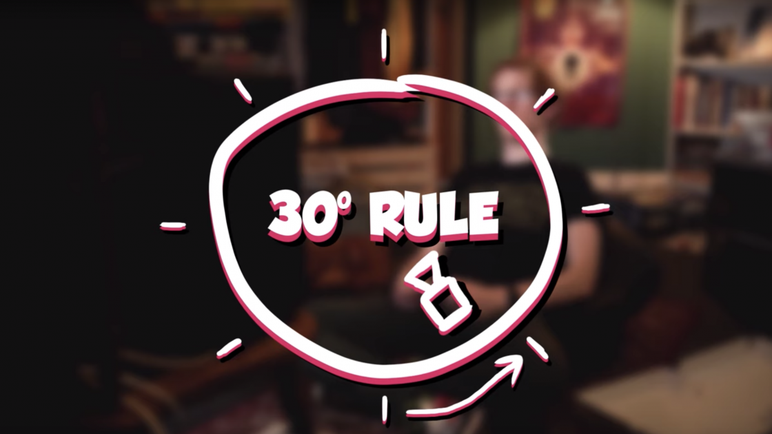 The 30-Degree Rule: A Trick All DPs and Editors Should Know