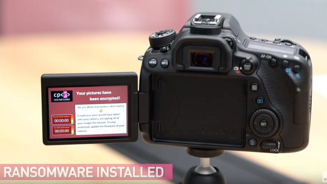 Canon Issues Security Warning For Certain Cameras