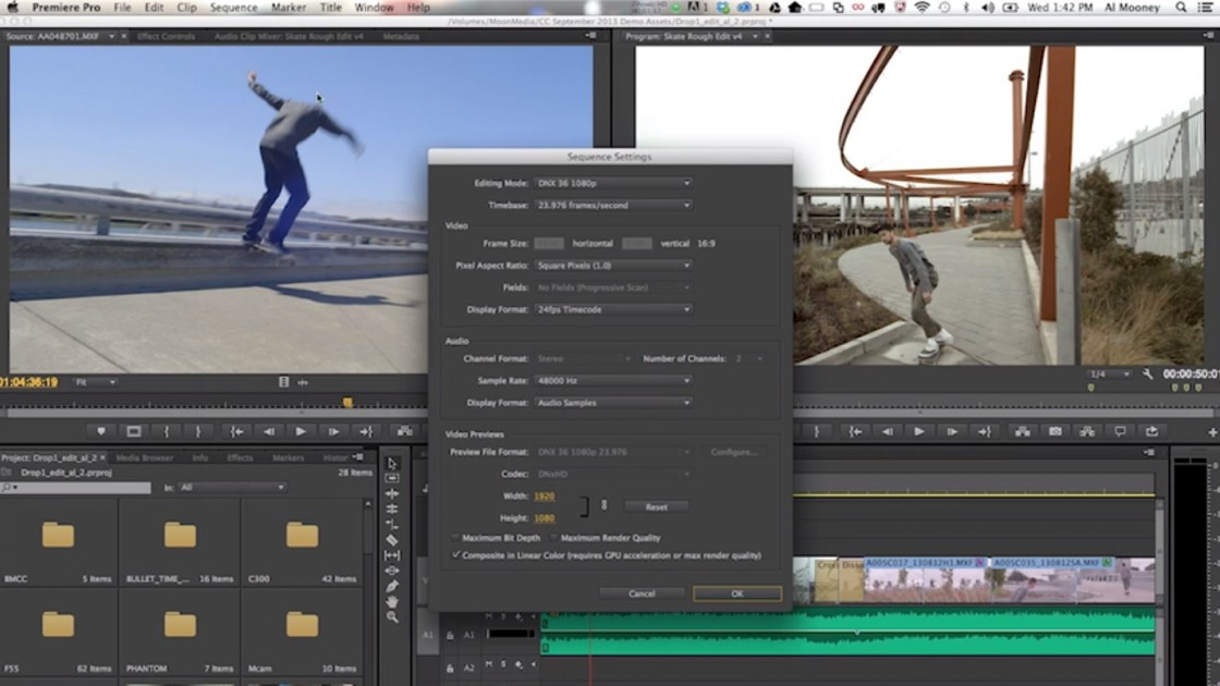 Adobe Premiere CC Getting CinemaDNG & RED DRAGON Support