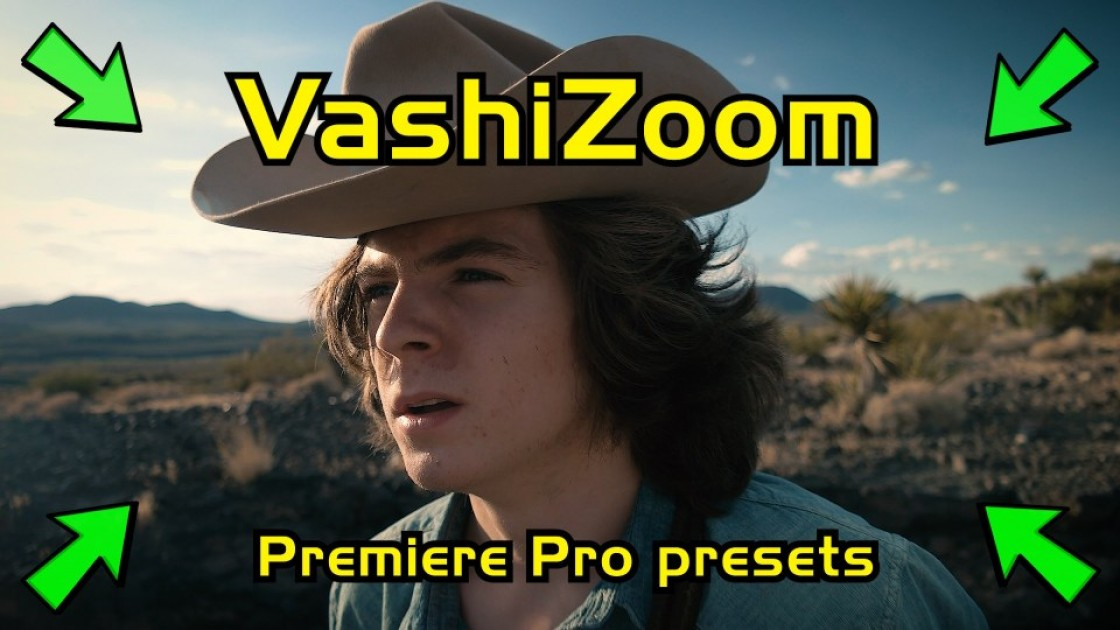 Achieve A Slow Push-In in Post with Vashi Nedomansky's Premiere Pro Preset
