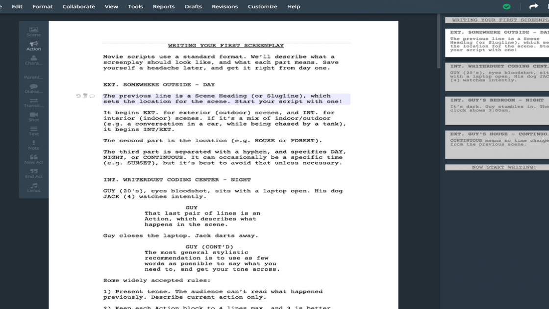 Introducing WriterSolo: A Powerful Pay-What-You Want Screenwriting Software