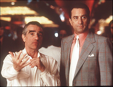 Scorsese and De Niro. Collaboration at work.