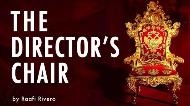 The Director's Chair, by Raafi Rivero