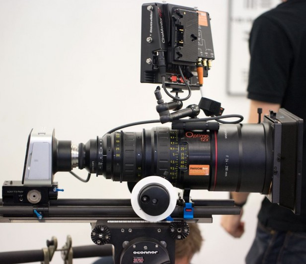 Blackmagic Cinema Camera Angenieux Optimo PL Lens