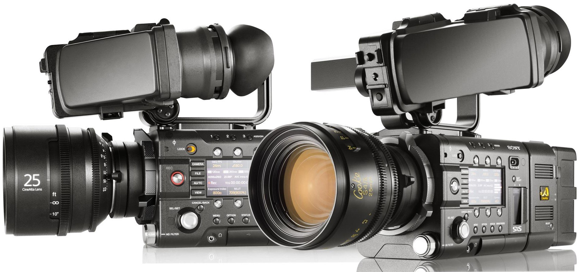 Sony Gets Serious with F5 and F55 Digital Cinema Cameras: 4K, 240FPS