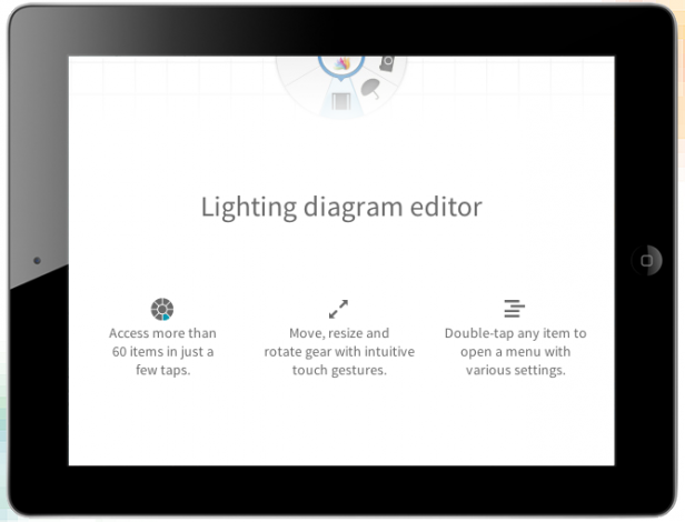 sylights is an intuitive lighting diagram app for ios devices rh nofilmschool com Troubleshooting Diagrams for the iPad iPad Parts Diagram