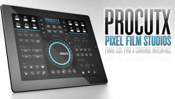 Your iPad is Now a Controller for Apple Final Cut Pro X with Pixel Film Studios' ProCutX - NoFilmSchool