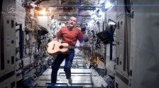 Chris Hadfield - Space Oddity - Space Station Music Video