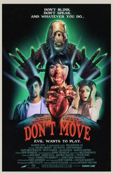Dont Move Poster