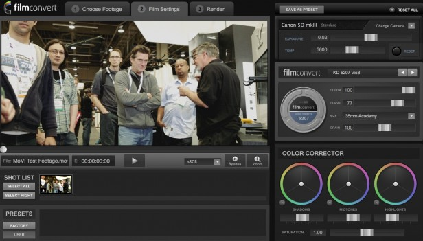 FilmConvert Standalone Version 1.047