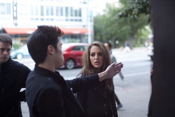 Lily and Kat Micael Preysler Directing Jessica Rothe