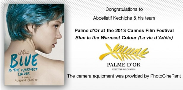 PhotoCineRent - Blue is the Warmest Color