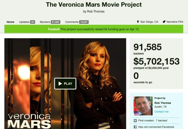 Veronica Mars Movie Kickstarter