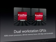Dual AMD FirePro GPUs Apple New Mac Pro