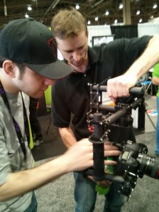 Joe Marine Operating Freefly MoVI