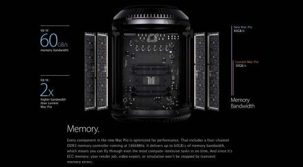 Mac Pro Clickthrough - Memory