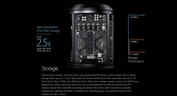 Mac Pro Clickthrough - Storage