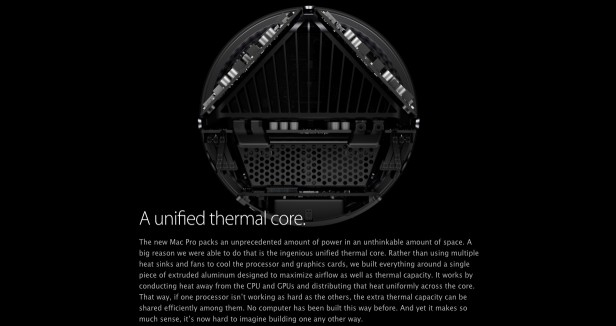 Mac Pro Clickthrough - Unified Thermal Core