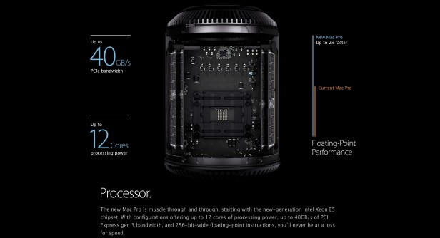 New Apple Mac Pro - Processor - WWDC 2013
